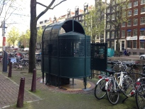AMS - special urinals next to the river