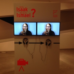 Berlin - Jewish Museum - Are you Isaac or Ismael?